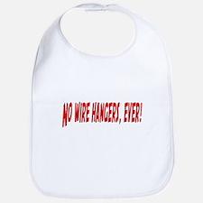 No Wire Hangers Bib