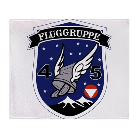 Fluggruppe 45 Throw Blanket