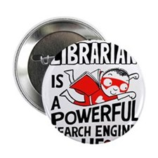 "Super Librarian 2.25"" Button"