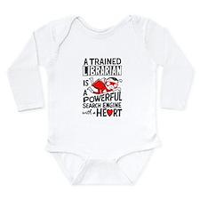 Super Librarian Long Sleeve Infant Bodysuit
