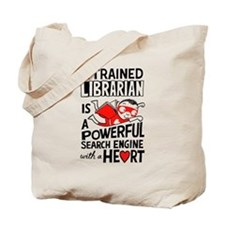 Super Librarian Tote Bag