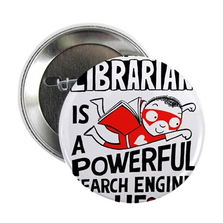 "Super Librarian 2.25"" Button"