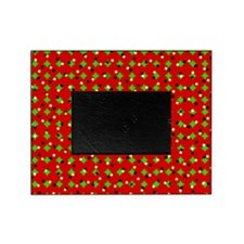 Red and Green Confetti Picture Frame