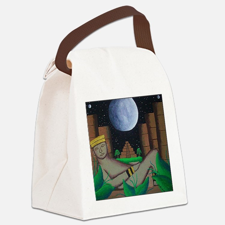 mayan.jpg Canvas Lunch Bag