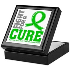 Bile Duct Cancer Fight For A Cure Keepsake Box