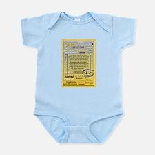 CANCER BIRTHDAY Infant Bodysuit