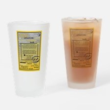 CANCER BIRTHDAY Drinking Glass