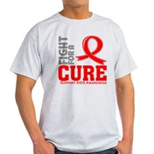 AIDS Fight For A Cure T-Shirt
