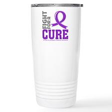 Alzheimers Disease Fight Travel Mug