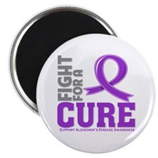 """Alzheimers Disease Fight 2.25"""" Magnet (10 pack)"""