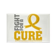 Appendix Cancer Fight Rectangle Magnet