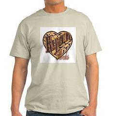 Ryan Rocks Ash Grey T-Shirt