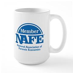 NAFE Member Logo Large Mug