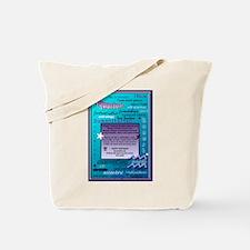 AQUARIUS BIRTHDAY Tote Bag