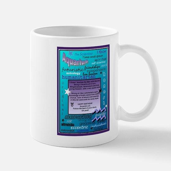 AQUARIUS BIRTHDAY Mug