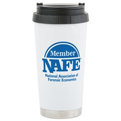 NAFE Member Logo Stainless Steel Travel Mug