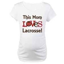 Mom Loves Lacrosse Shirt