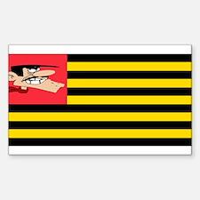 Flag Daltons Sticker (Rectangle)
