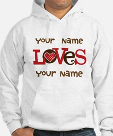 Personalized Love Jumper Hoody