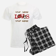 Personalized Love pajamas