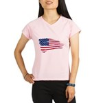 US flag Performance Dry T-Shirt