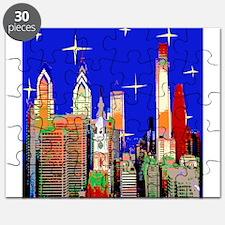 Philadelphia Starry Night Puzzle