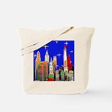 Philadelphia Starry Night Tote Bag