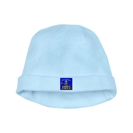 Philadelphia Starry Night baby hat