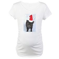 Micro pig with Santa hat Shirt