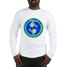 Pisces Zodiac Sign Long Sleeve T-Shirt