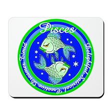 Pisces Zodiac Sign Mousepad