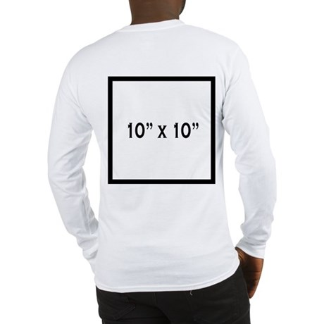 STR temp (back) Long Sleeve T-Shirt