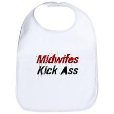 Midwifes Kick Ass Bib