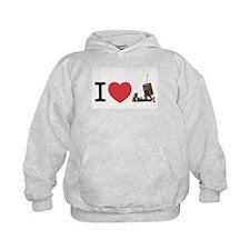 I Love Iron Dome Shirt Hoodie