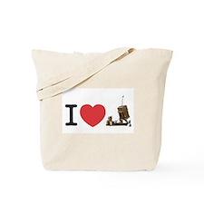 I Love Iron Dome Shirt Tote Bag