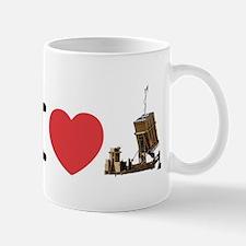 I Love Iron Dome Shirt Small Small Mug