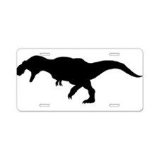 Cute Dinosaur Aluminum License Plate