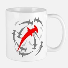 Circling Hammerhead Sharks Mug