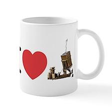I Love Iron Dome Small Mug