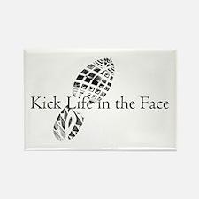 Life Slogan Rectangle Magnet