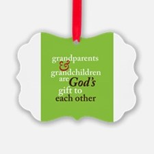 Cute New grandparents Ornament