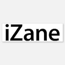 iZane Bumper Bumper Bumper Sticker