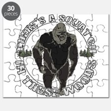 Sqautch in woods Puzzle