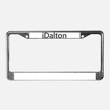 iDalton License Plate Frame