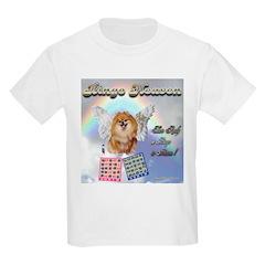 Bingo Heaven pomeranian Kids T-Shirt