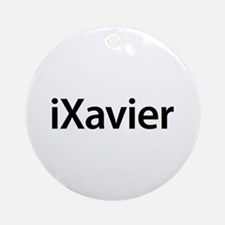 iXavier Round Ornament