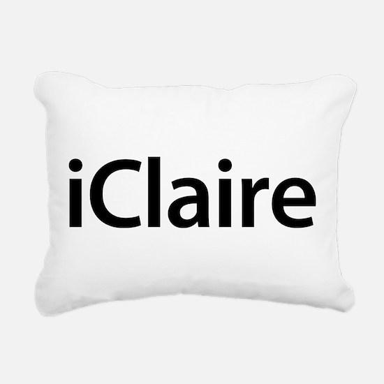 iClaire Rectangular Canvas Pillow