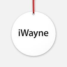 iWayne Round Ornament