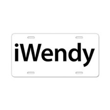 iWendy Aluminum License Plate