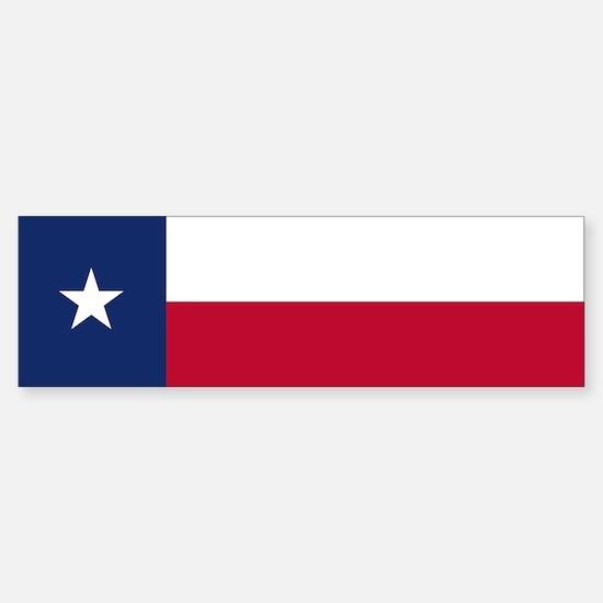 Texas Flag - TX Sticker (Bumper)